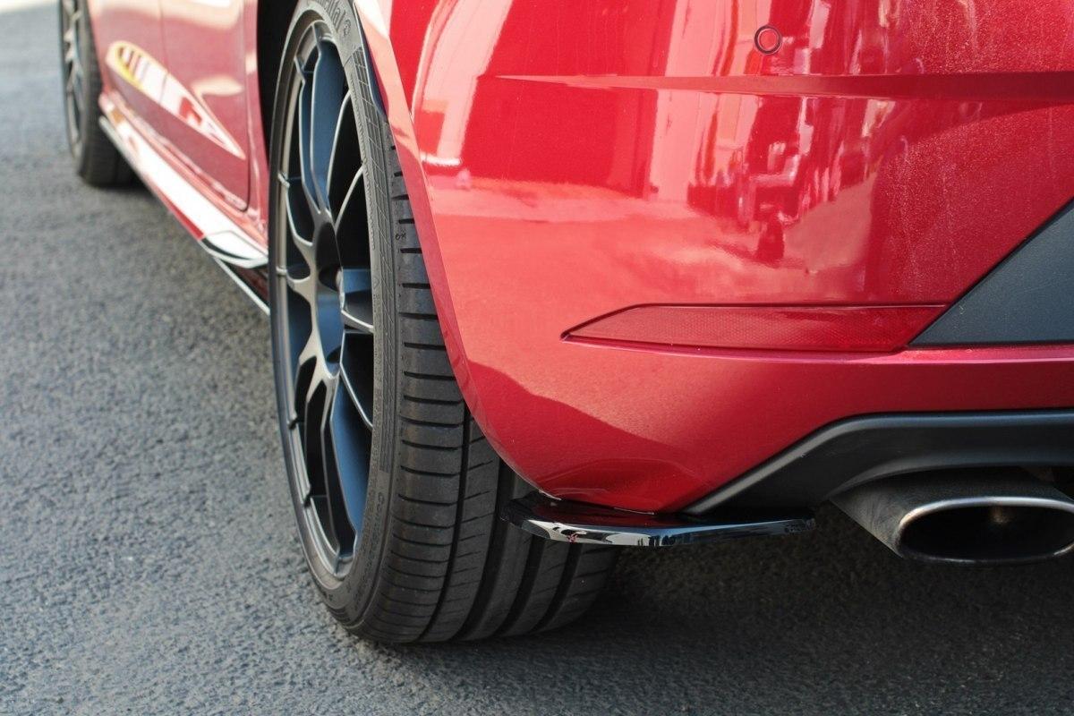 Splittery Tylne Boczne Seat Leon Mk3 Cupra Facelift V.1 - GRUBYGARAGE - Sklep Tuningowy
